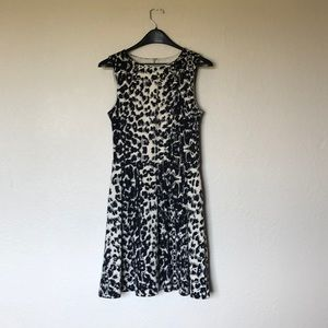 Mossimo cheetah print a line dress size small